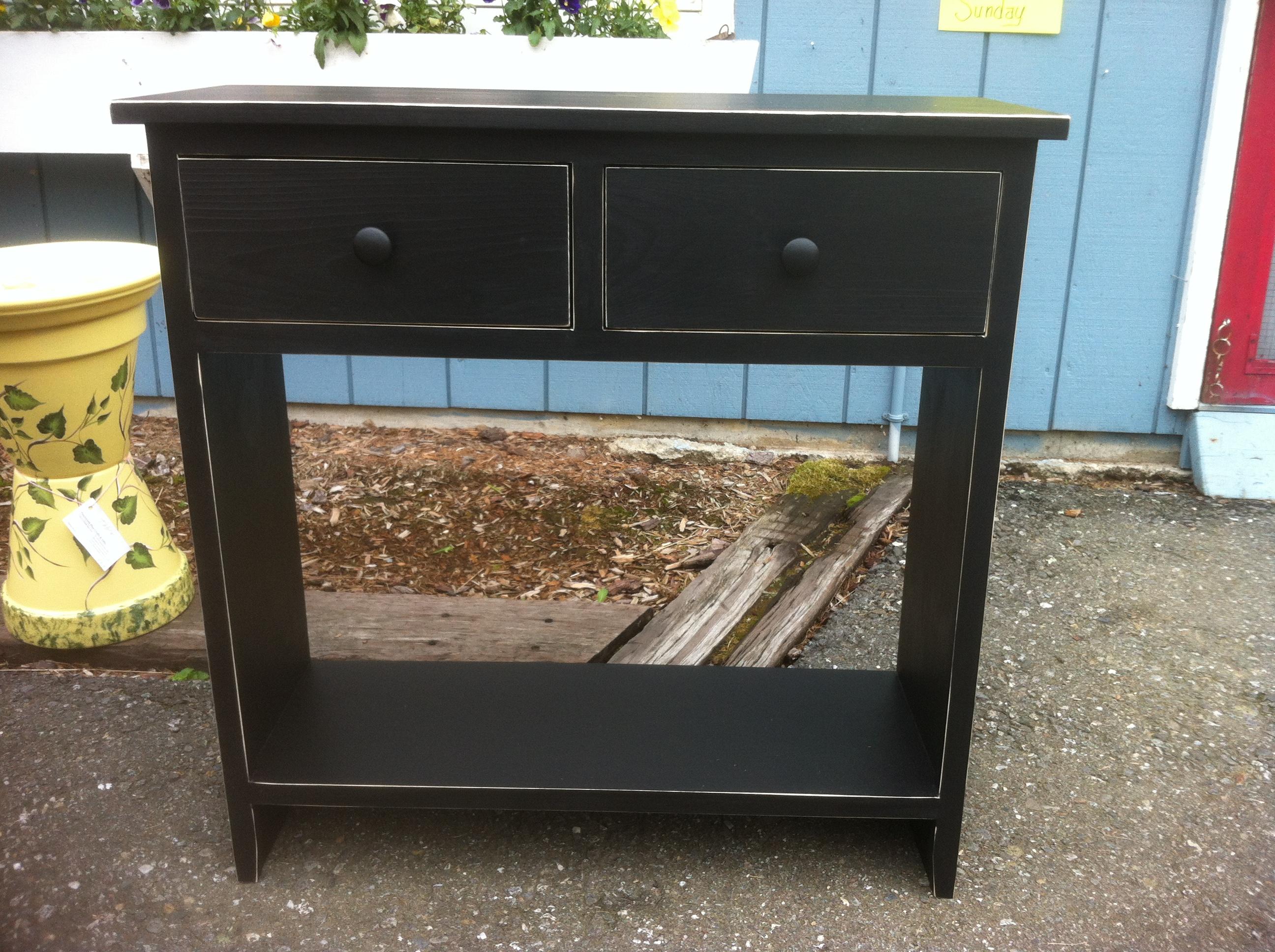 Primitive furniture - Hall Table 30